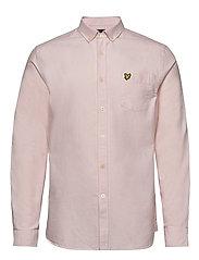 Oxford Shirt - STRAWBERRY CREAM/ WHITE