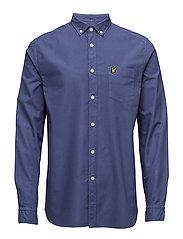 Garment Dye Oxford Shirt - STORM BLUE