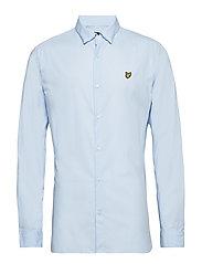 Slim Fit Poplin Shirt - RIVIERA