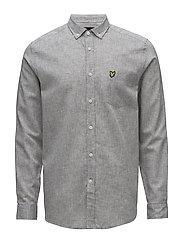 Cotton Linen Shirt - URBAN GREY
