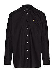 Oxford Shirt - TRUE BLACK