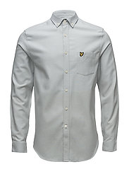 Block Marl Shirt - GREY BLUE