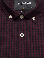 LS Slim Fit Gingham Shirt