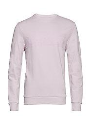 Flock Logo Sweatshirt - DUSKY LILAC