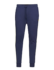 Side Stripe Skinny Sweatpant - NAVY