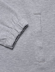 Lyle & Scott - 1/4 Zip Pique Sweatshirt - half zip - light grey marl - 3