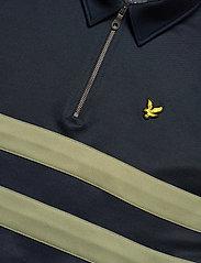 Lyle & Scott - Wide Stripe 1/4 Zip - polos à manches longues - dark navy - 2
