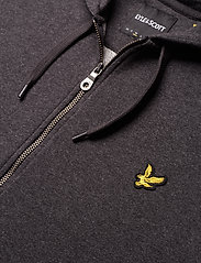 Lyle & Scott - Zip Through Hoodie - hoodies - charcoal marl - 2
