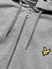 Lyle & Scott - Zip Through Hoodie - hoodies - mid grey marl - 2