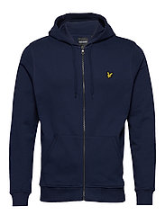 Zip Through Hoodie - NAVY