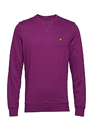 Crew Neck Sweatshirt - BLACKCURRANT