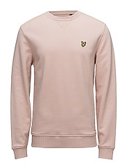 Crew Neck Sweatshirt - DUSTY PINK