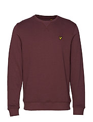 Crew Neck Sweatshirt - BERRY