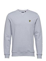 Crew Neck Sweatshirt - CLOUD BLUE