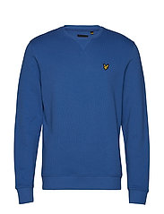 Crew Neck Sweatshirt - LAPIS BLUE