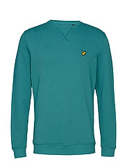 Crew Neck Sweatshirt - PETROL TEAL