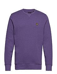 Crew Neck Sweatshirt - VIOLET