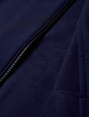 Lyle & Scott - Zip Through Funnel Neck Soft Shell Jacket - kurtki-wiosenne - navy - 5