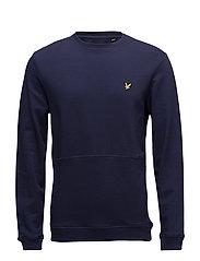 Front Pocket Sweatshirt - NAVY