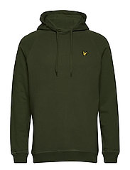 Ottoman Pullover Hoodie - WOODLAND GREEN