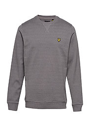 Mouline Sweatshirt - GREY CLOUD