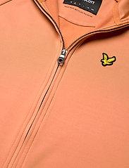 Lyle & Scott - Oversized Tricot Funnel Neck - sweatshirts & hoodies - dusk orange - 2