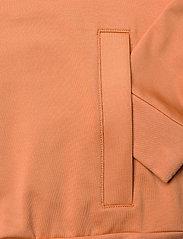 Lyle & Scott - Oversized Tricot Funnel Neck - sweatshirts & hoodies - dusk orange - 3