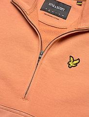 Lyle & Scott - 1/2 Zip Funnel Neck - sweatshirts en hoodies - dusk orange - 2