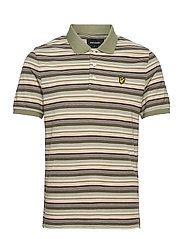 Stripe Polo Shirt - MOSS