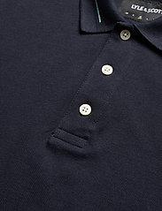 Lyle & Scott - Seasonal Branded Collar Polo Shirt - polos à manches courtes - dark navy - 2