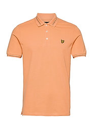Seasonal Branded Collar Polo Shirt - MELON