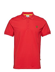 Kelso  Tech Pique Polo Shirt - PAVILION RED