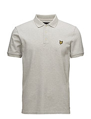 Polo Shirt - LIGHT GREY MARL
