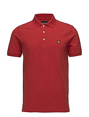 Polo Shirt - TOMATO RED