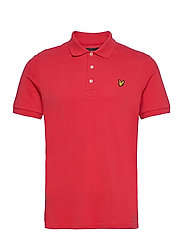 Plain Polo Shirt - GALA RED