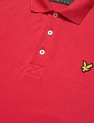 Lyle & Scott - Plain Polo Shirt - polos à manches courtes - gala red - 2