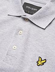 Lyle & Scott - Plain Polo Shirt - polos à manches courtes - light grey marl - 2