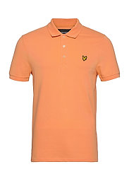 Plain Polo Shirt - MELON