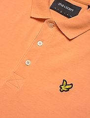 Lyle & Scott - Plain Polo Shirt - polos à manches courtes - melon - 2