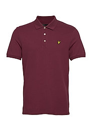 Plain Polo Shirt - MERLOT