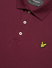 Lyle & Scott - Plain Polo Shirt - polos à manches courtes - merlot - 2