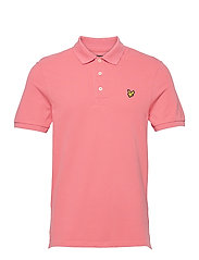 Plain Polo Shirt - PUNCH PINK