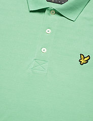 Lyle & Scott - Plain Polo Shirt - polos à manches courtes - sea mint - 2