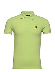 Plain Polo Shirt - SHARP GREEN