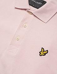 Lyle & Scott - Plain Polo Shirt - polos à manches courtes - stonewash pink - 2