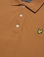 Lyle & Scott - Plain Polo Shirt - polos à manches courtes - tawny brown - 2