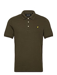 Plain Polo Shirt - TREK GREEN