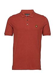 Polo Shirt - BROWN SPICE