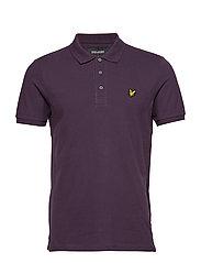 Polo Shirt - DEEP PLUM
