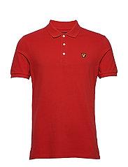 Polo Shirt - GRENADINE RED